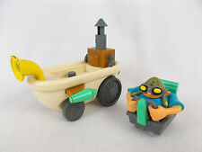 "RARE Codename: Kids Next Door KND 6"" Bathtub Car Vehicle with Figure"
