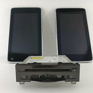 "BMW 5er 6er 7er X5 X6 Fondmonitor 10,2"" schwarz mit  DVD-Player Fond Original"