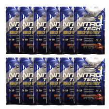 MuscleTech NitroTech Iso Whey Isolate Protein Milk Chocolate - 12 Pack