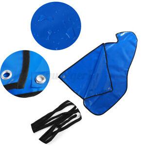 Deichselabdeckung Deichselhaube Seil Wasserdicht PVC Blau Für PKW Anhänger  DE