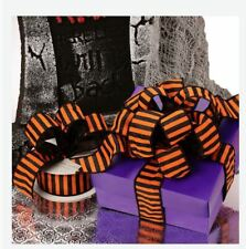 10pc PURPLE Halloween Paper Gift Boxes with Lids 8 x 8 x 4 inches  Boxes