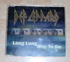 Def Leppard  Long Long Way To Go    Promo  Maxi CD