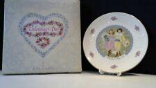 Royal Doulton Valentines Day Plate Nib 1976 My Valentine