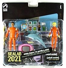 Adult Swim Sealab 2021 Dr. Quentin Quinn & Debbie DuPree Action Figure 2-Pack