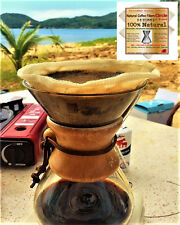 Reusable Coffee Filters for Chemex by P&F(2 pack) ,No Harmful Chemical