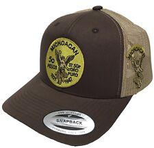El Centenario De Michoacan Mexico Logo Federal HAT  2 LOGOS Brown Khaki MESH
