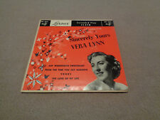 "Vera Lynn - Sincerely Yours - London 7"" Vinyl 45 UK EP - 4 Songs - PS - 1952"