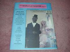 WORLD of FANDOM v2 n6 fanzine, TROMA, Toxic Avenger, Leviathan, Pet Sematary