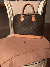 Louis Vuitton Alma Monogram Handbag Great Condition! Dust Bag - Lock & Key
