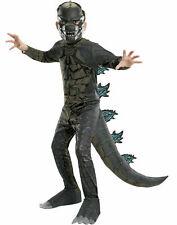 Green Godzilla Bambino Kids Dinosauro T-Rex Costume Costume LIBRO