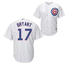 Cubs Majestic Baseball White Jersey #17 Kris Bryant Size Mens XL Cool Base