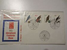 Germany: West Berlin 1973 Sonderbrief Cover- Frankfurter Messe - Birds