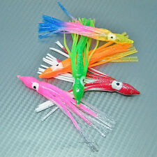 Squid Octopus Skirts Sea Fishing Tackle Lures Uptide Boat Rod Jigs Pirks Rigs x5