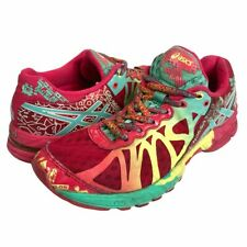Asics Womens Gel Noosa Tri 9 Running Shoes Red T458Q Low Top Lace Up Sneakers 7M
