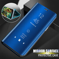 For Samsung Galaxy Note 9 Clear View Case Luxury Flip Leather Mirror Stand Cover