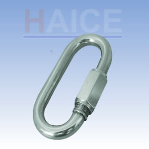 """10 pieces, 1/2""""  316 stainless quick link, Closing shop clearance"""
