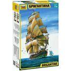 "Zvezda 9011 ""Brigantine"" /sailing ship/ 1/100"