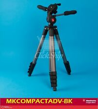 Manfrotto Compact Advanced Aluminum Tripod (Black) Mfr # MKCOMPACTADV-BK