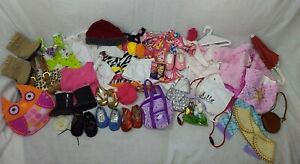 Giant Lot of 18 inch Doll Clothes and Accessories- Fits American Girl Dolls!!