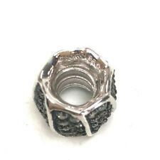 Chamilia Jeweled Petals Sterling Silver Bead with Clear Cubic  Zirconium