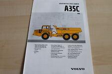 127190) Volvo A 35 C 6x6 Prospekt 09/1999