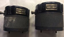 Pair RCA horn driver Speaker Mechanism MI-9458 WESTEREX Western Electric OLD Era