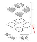 OEM VOLVO V50 FLOOR MAT TEXTILE BLACK SPORT SET LHD 31267662 GENUINE