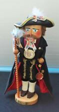 "Original Christian STEINBACH Wood 18"" BAVARIAN NUTCRACKER Hand Made Germany"