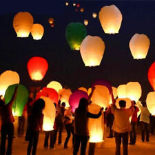 Hot Wishing Lanterns Chinese Paper Sky Flying Floating Party Wedding Lamp