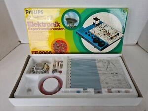 Vintage Philips EE2006 Elektronik Electronic Electrical Engineering Kit sealed