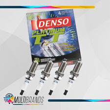 Set of 4 DENSO 4503 PK16TT Platinum TT Spark Plugs Made in Japan GENUINE