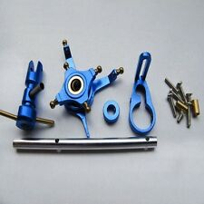 CNC Alloy Metal Upgrade Set for WL V911 Nine Eagles 260A Micro Helicopter Blue