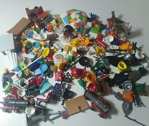 Large job lot of Playmobil Weapon Accessories Bundle furniture food pram random