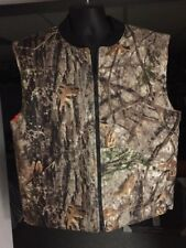 Cabelas Orange/ Camo Reversible Down Vest!!! Only Worn Once!!! NICE 👍/ Large