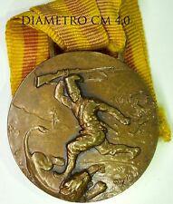 114) Medaglia Campagne d'Africa Comando 4 Gruppo Btg Indigeni Eritrea Al Merito