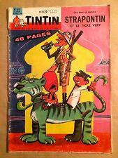 LE JOURNAL DE TINTIN - 617 : 18 août 1960