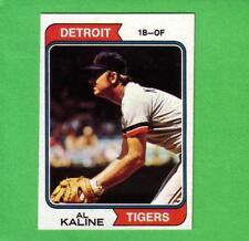1974 TOPPS AL KALINE # 215 DETROIT TIGERS HOF