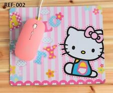 002 - Cartoon Cute Hello Kitty Computer MOUSE PAD (1 pc) not include a mouse