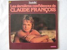CLAUDE FRANCOIS 33 TOURS FRANCE LES DERNIERES CONFIDENC