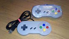 Usb Snes Super Nintendo Controllers X2