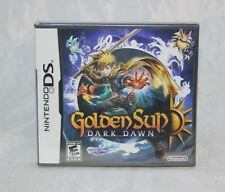 Golden Sun: Dark Dawn (Nintendo DS, 2010) Brand New Factory Sealed