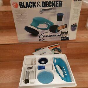 Black & Decker ScumBuster Kit Cordless Bathroom Wet Scrubber SB400