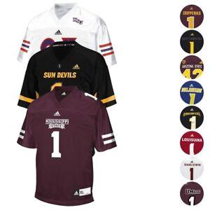 NCAA Adidas Men's Team Official Home Away Alt Football Jersey Collection