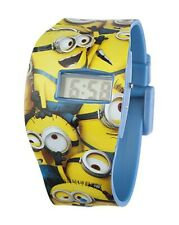 Minions LCD-Armbanduhr in Blisterpackung 8 x 3 x 27 cm (unisex)