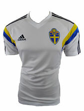 Adidas Schweden Trikot SVFF TRG Jersey  Gr.M Neu
