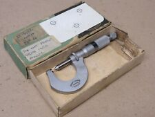 Moore & Wright No. 454 Whit 22 - 30 Tpi External Outside Thread Micrometer