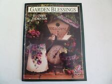 Garden Blessings - Chris Thornton Tole Painting How to Instruction Book Pattern