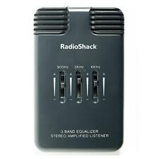 Radioshack 3-Band EQ Stereo Amplified Listener (3301097) BRAND NEW/FREE USA SHIP