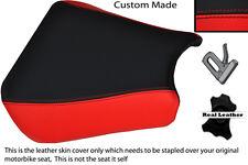 Noir et rouge custom 00-01 fits honda cbr 900 coureur devant housse siège en cuir