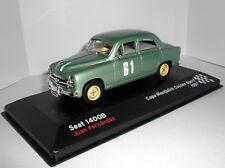 - IXO / Altaya  -  SEAT 1400B - #61 -  Rallye-Version  -  1957  -  1:43  -  NEU
